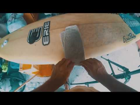 MY SECRET TO FAST SURFBOARD WAX REMOVAL