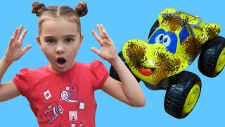 Car Wash song with Nick and Poli | Kids Song