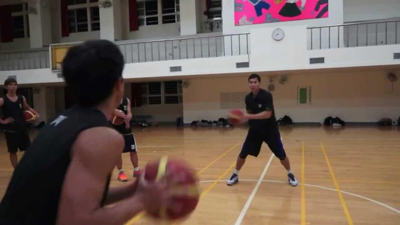 [DV大專籃球學院] 傳接球基礎訓練 - YouTube