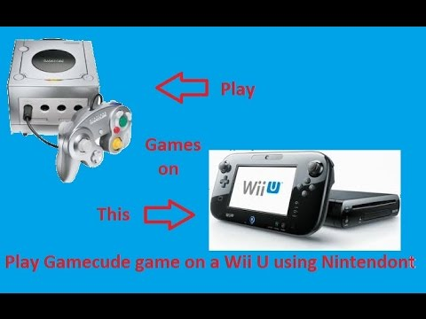 Play Gamecube Games On Your Wii U With Nintendont Tutorial