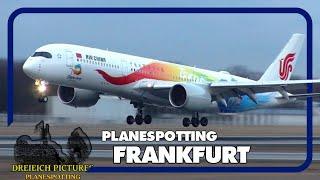 Planespotting Frankfurt Airport   Dezember 2018   Teil 1