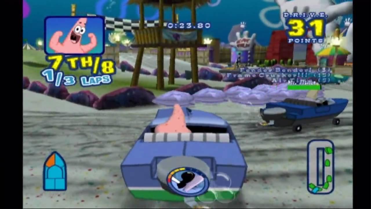 spongebob games on wii
