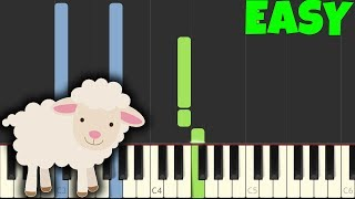 The Lonely Shepherd [Easy Piano Tutorial] (Synthesia/Sheet Music)