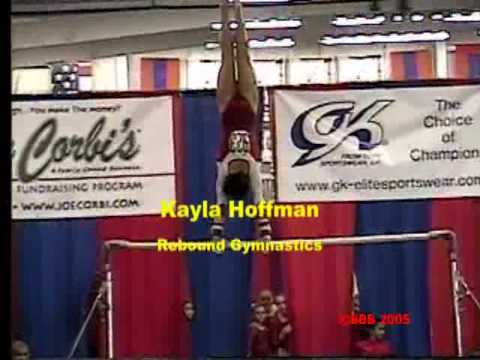 Kayla Hoffman 2005 Parkette Invite Elite Qualifier Bars