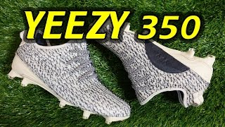 adidas yeezy 350 cleats review on feet