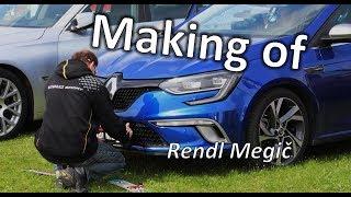 Tohle neměl nikdy, nikdo vidět!!! Rendl Megič - Making of