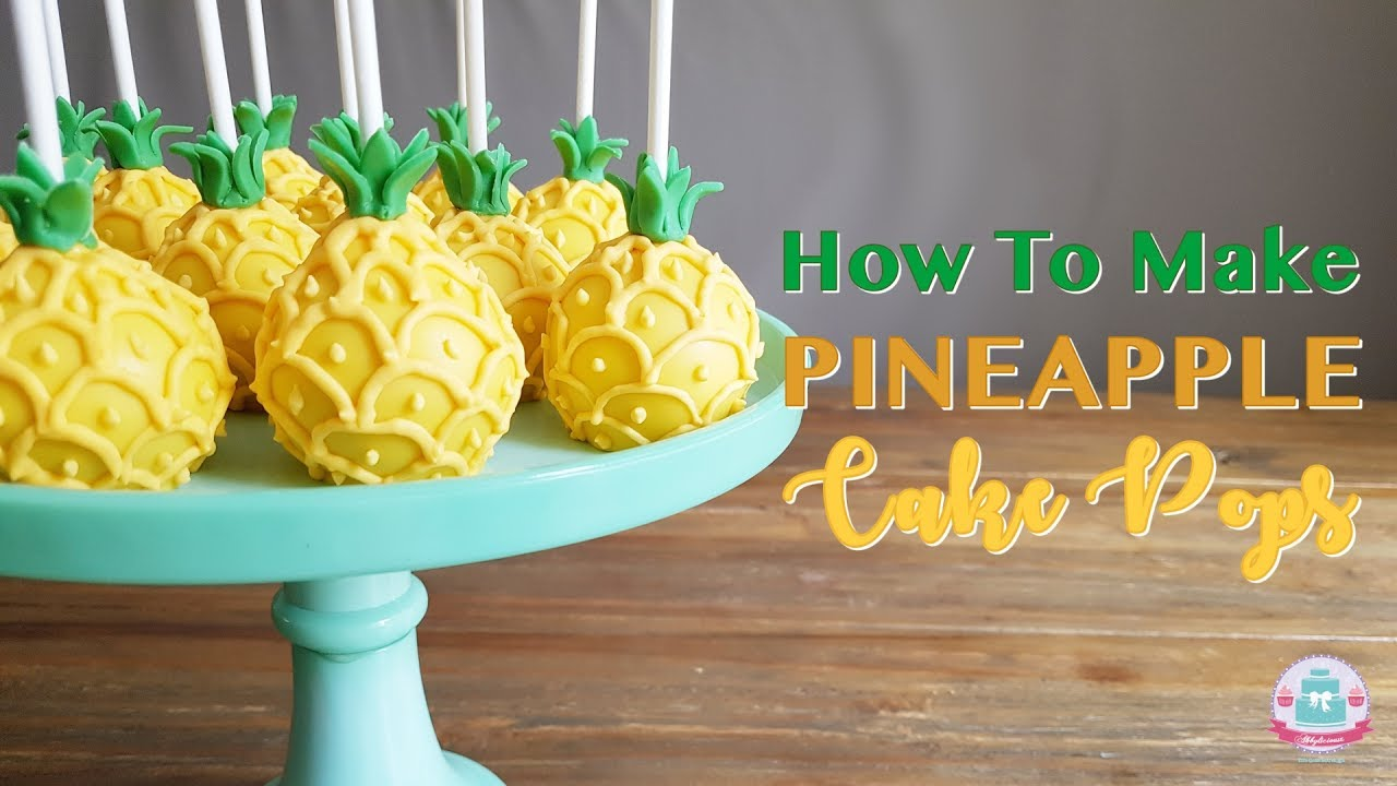 Pineapple Cake Pops Recipe