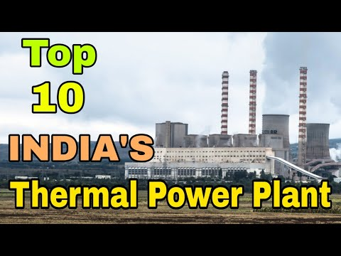 Top 10 Thermal Power Plant of INDIA (in Hindi)