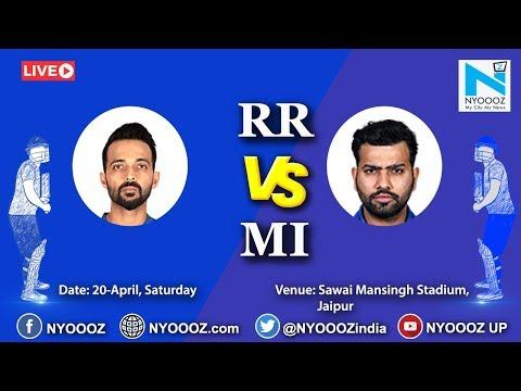 Live IPL 2019 Match 36 Discussion: RR vs MI | Rajasthan Royals won by 5 wkts