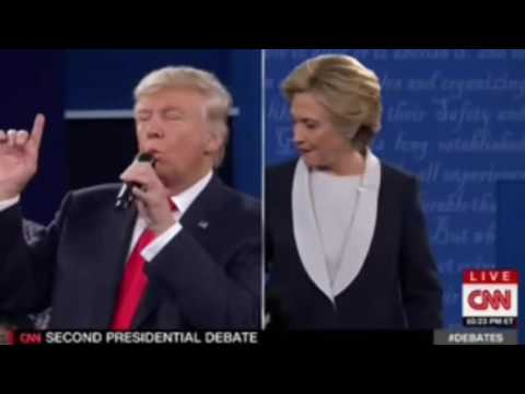 Audio Daily News 2016 - FULL Audio Second US Presidential Debate 2016