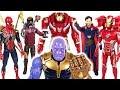 Thanos has grown bigger! Marvel Avengers Infinity War Spider Man, Iron Man, Hulk! - DuDuPopTOY
