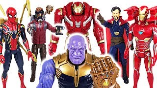 Thanos has grown bigger! Marvel Avengers Infinity War Spider Man, Iron Man, Hulk! - DuDuPopTOY thumbnail