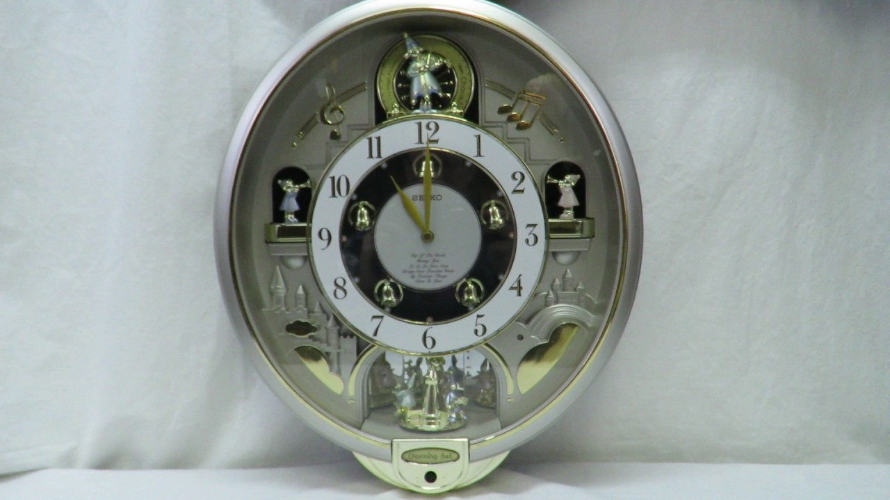 Seiko charming bell musical melodies clock in action youtube seiko charming bell musical melodies clock in action amipublicfo Images