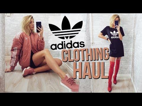 ADIDAS CLOTHING HAUL | Vlogmas EP 1