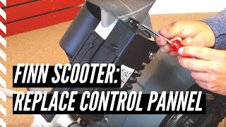 How to replace a Finn Scooter control panel