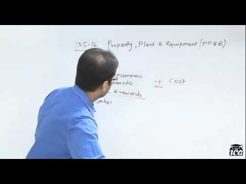 IAS 16 - IFRS Property, Plant & Equipment (Fixed Assets) 1 of 2