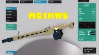 Roblox Phantom Forces New Gun examen [MG3KWS]