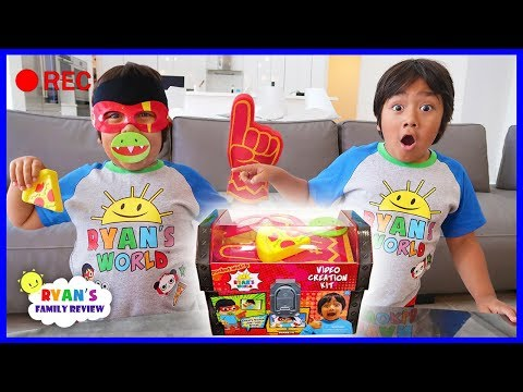 Ryan Makes His Own Videos With Video Creator Kit