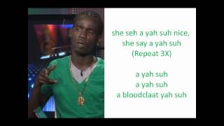 Potential Kid - She Say A Yah Suh Nice (LYRICS ON SCREEN) HOT CHOCOLATE RIDDIM.