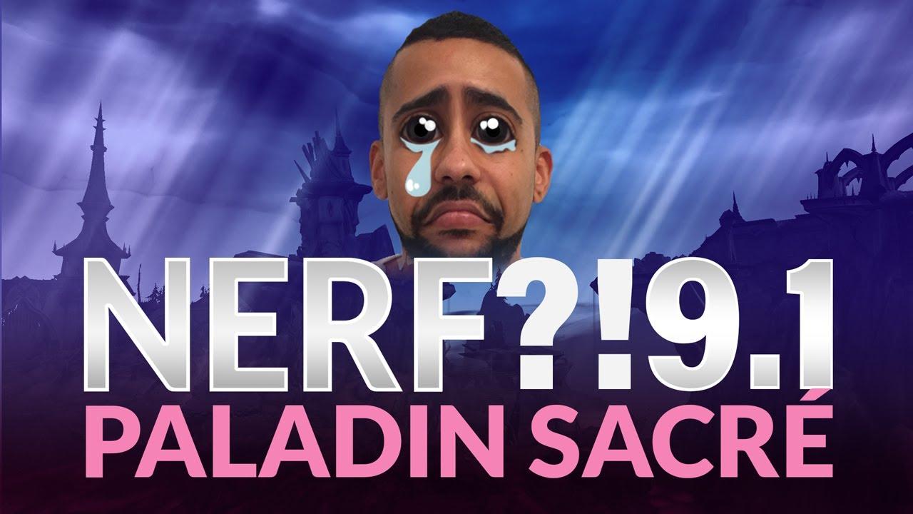 Download Le nerf paladin sacré à la 9.1