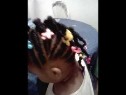 Braided Mohawk Hairstyle For Little Girls Youtube