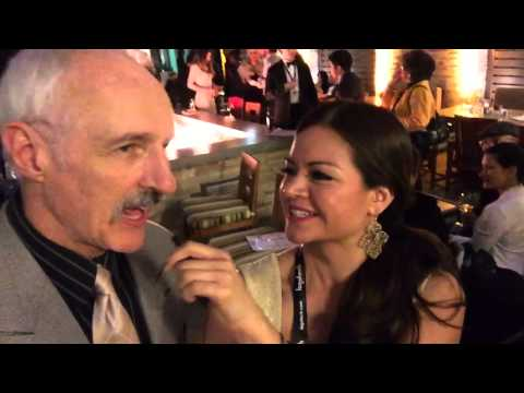 Fun  with actor Michael Gross