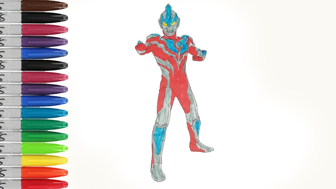 Ultraman Ginga Sexy Suit Coloring Pages Sailany Coloring Kids Youtube