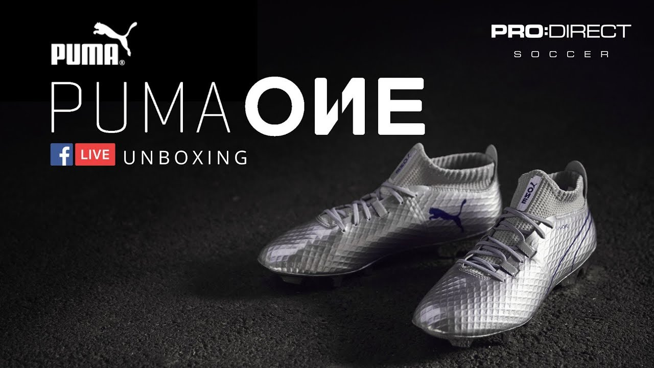 32736102c Unboxing: PUMA ONE Chrome - YouTube