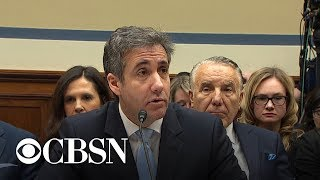 "Cohen: In private, Trump's racist comments were ""even worse"""