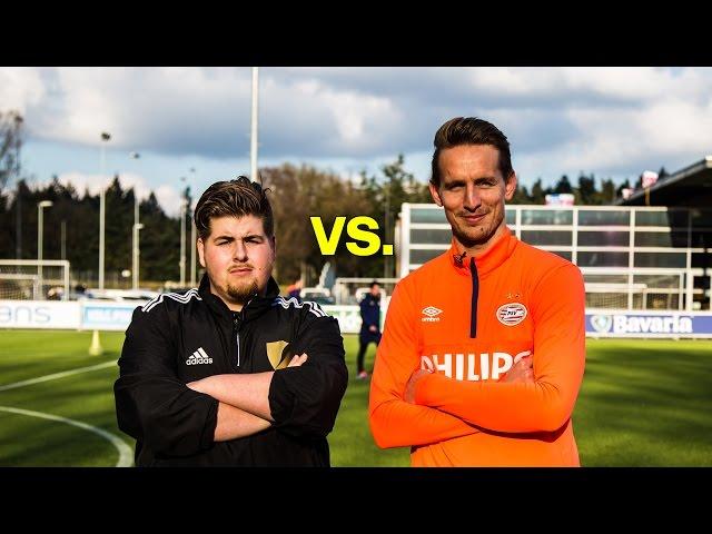Vodafone Challenges vs. Luuk de Jong!  ( PSV ) - vvbasvv