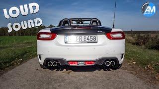 """Abarth 124 SPIDER - """"Record Monza"""" exhaust SOUND💥!"""