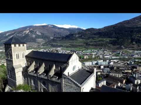 Castles of Sion, Switzerland - DJI Phantom