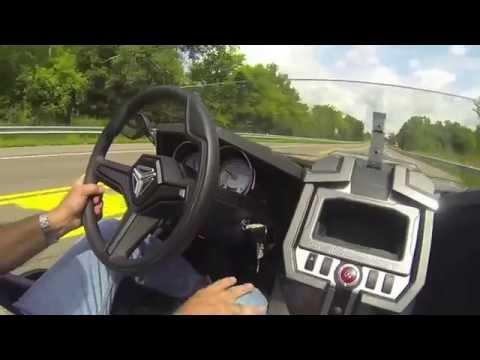 Northway Sports Polaris Slingshot Demo Ride Youtube