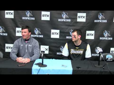 Press Conference: Towson Lacrosse at Johns Hopkins