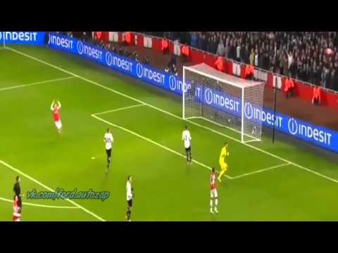 Arsenal vs Tottenham 2 0 all goals and HD highlights 4-1-2014
