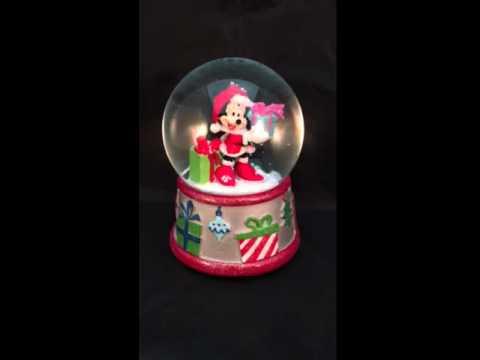 Disney Minnie Mouse Musical Snowglobe