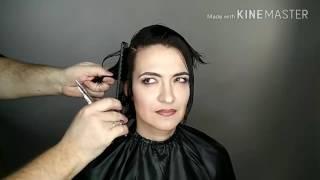 Видеоурок 2 .Женская короткая стрижка