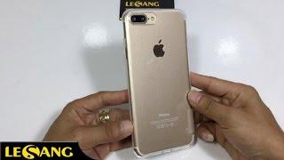 LÊ SANG - Ốp lưng iphone 7 Plus / 8 Plus Nillkin Silicon trong suốt siêu mỏng 0.6mm