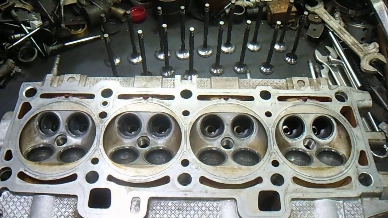 Ремонт  головки блока цилиндров  . Приора 16 клапанов.