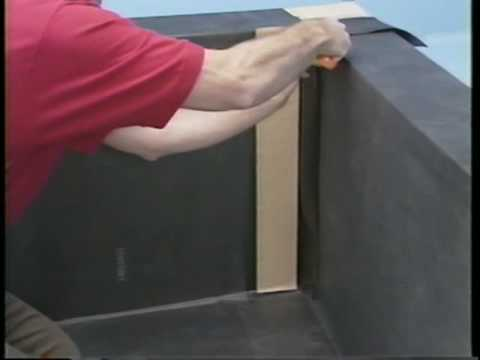 firestone epdm inside corners youtube. Black Bedroom Furniture Sets. Home Design Ideas