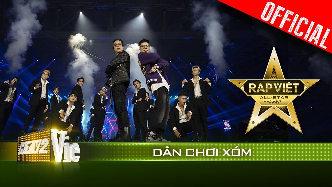 Live concert: Dân Chơi Xóm - JustaTee, RPT MCK | Rap Việt All-Star 2021