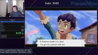 Pokemon Sword Any% Speedrun 6:47:18