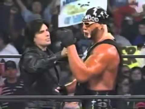 Hollywood Hogan challenges Randy Savage - WCW Monday Nitro - 2/9/98