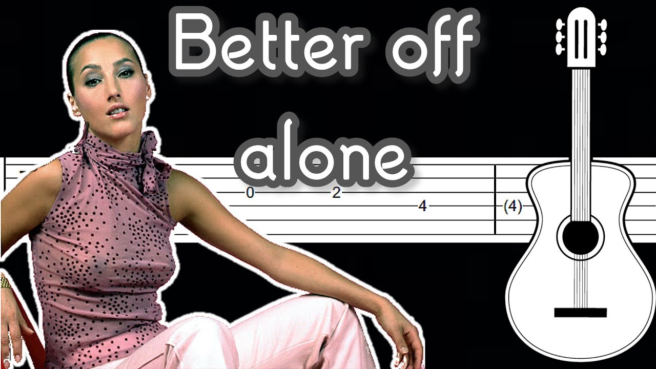 Alice Dj Better Off Alone Guitar Tutorial Tab Youtube