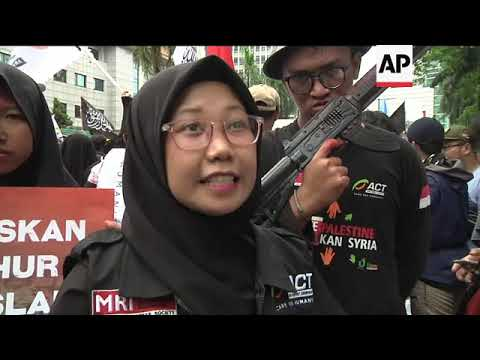 Jakarta demo over China's treatment of Uighurs Mp3