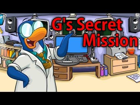 Beefy Plays Club Penguin PSA Mission 2: G's Secret Mission