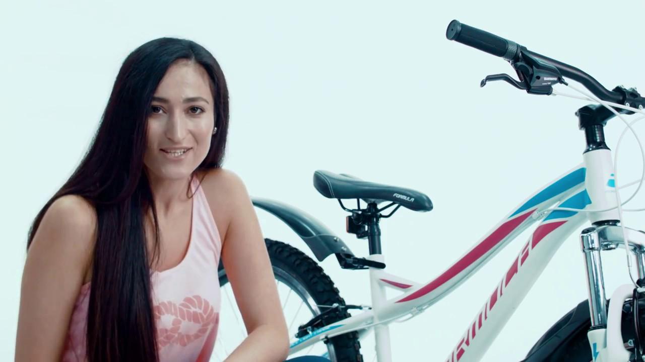 Обзор женского велосипеда Discovery Passion - YouTube
