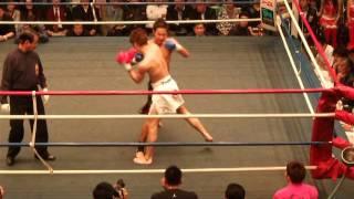 kick 2010 江幡 対 ベニーユキヒデ 1R キックボクシング