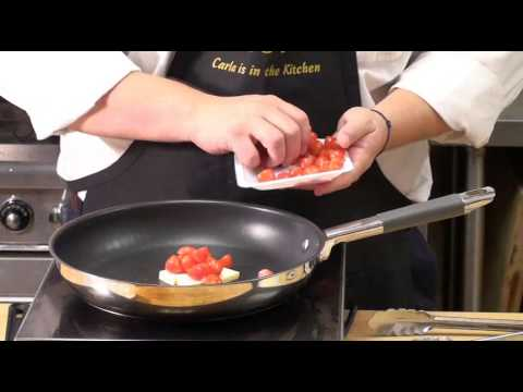 Sandro's Super Simple Sauces – Lobster Ravioli with Tarragon & Tomatoes