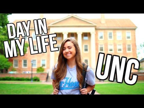 A DAY IN THE LIFE OF A UNC STUDENT | University of North Carolina Day In My Life